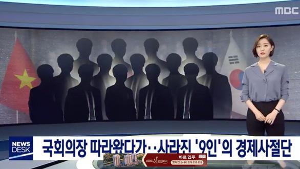 9 người đi cùng chuyên cơ đoàn chủ tịch Quốc hội trốn lại Hàn Quốc là người đội lốt doanh nhân - Ảnh 1.
