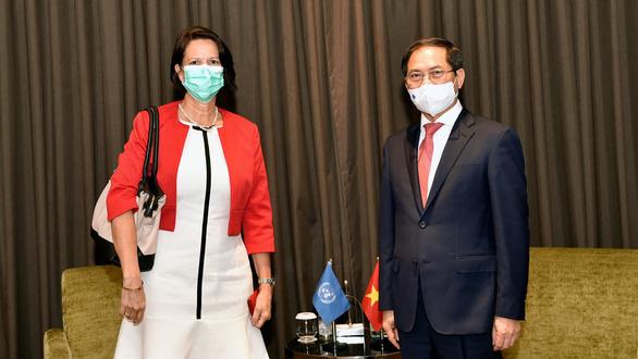 Việt Nam tiếp đặc phái viên Tổng thư ký Liên Hiệp Quốc về Myanmar - Ảnh 1.