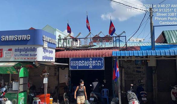 Phnom Penh đóng cửa tất cả chợ trong 14 ngày - Ảnh 1.