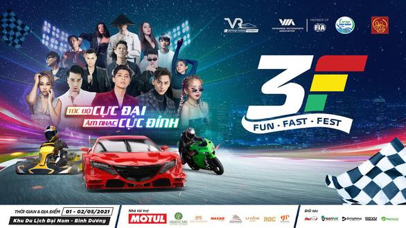 Sắp có Đại lễ hội 3F - đua xe và giải trí tại Việt Nam - Ảnh 1.