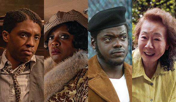 Nhà cái đang gọi tên Chadwick Boseman, Youn Yuh Jung, Chloé Zhao... tại Oscar 2021? - Ảnh 1.