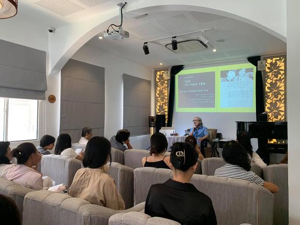 Nhà nghiên cứu Nhật Chiêu: Nhà thơ Tô Thùy Yên là bậc thầy của tiếng Việt - Ảnh 1.