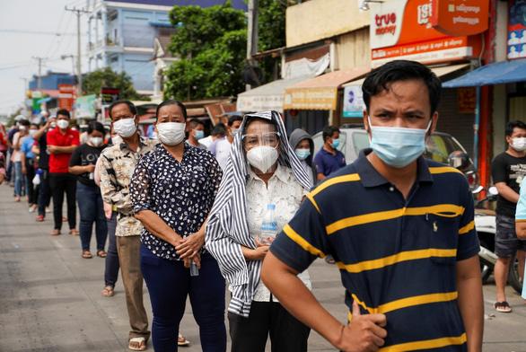 Campuchia: Dịch COVID-19 lan ra 22 tỉnh thành, có thể thêm kỷ lục buồn hôm nay - Ảnh 1.