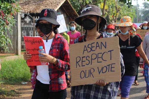 Phe đối lập ở Myanmar: Đồng thuận về Myanmar của ASEAN là tin đáng khích lệ - Ảnh 1.