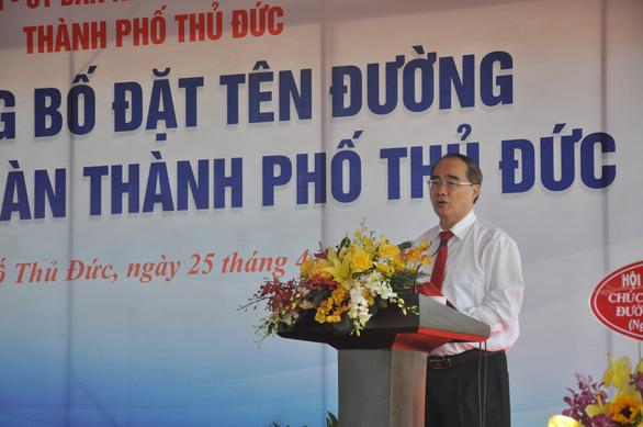 Thành phố Thủ Đức có tên đường Tố Hữu, Trần Bạch Đằng, Nguyễn Thiện Thành… - Ảnh 4.
