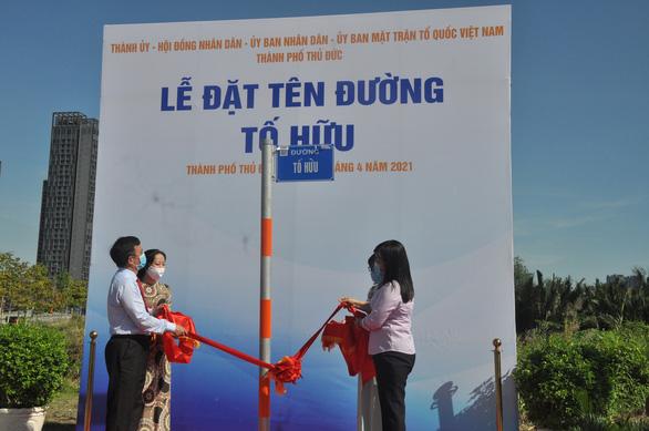 Thành phố Thủ Đức có tên đường Tố Hữu, Trần Bạch Đằng, Nguyễn Thiện Thành… - Ảnh 1.