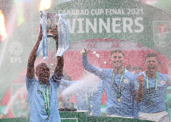 Đánh bại Tottenham, Man City lần thứ 4 liên tiếp vô địch Cúp liên đoàn - Ảnh 1.