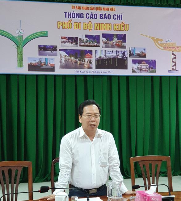 Cần Thơ: Phố đi bộ bến Ninh Kiều bắt đầu từ đêm 1-5 - Ảnh 1.