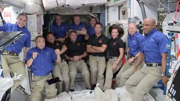 Dân số trên Trạm vũ trụ quốc tế đông nhất trong hơn 10 năm qua - Ảnh 1.