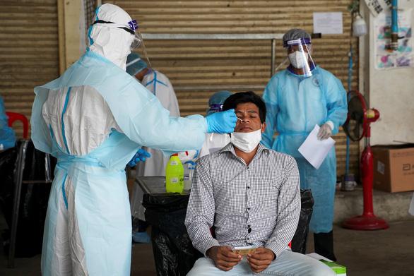 Campuchia có thêm 508 ca COVID-19, Phnom Penh bớt người nhiễm virus - Ảnh 1.