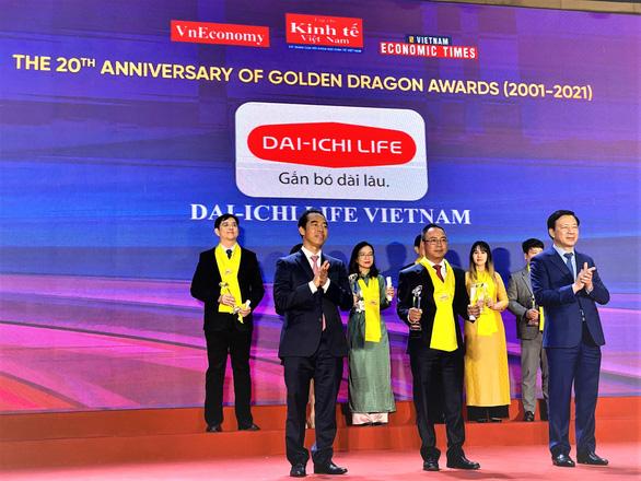 Dai-ichi Life Việt Nam được vinh danh lần thứ 12 liên tiếp tại chương trình Rồng Vàng - Ảnh 1.
