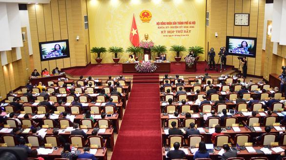 Hà Nội công bố 160 ứng viên, bầu 95 đại biểu HĐND thành phố - Ảnh 1.