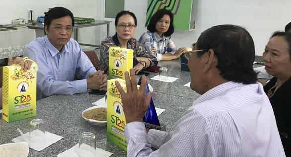 Ông Hồ Quang Cua đã thuê luật sư đăng ký bảo hộ gạo ST25 - Ảnh 1.