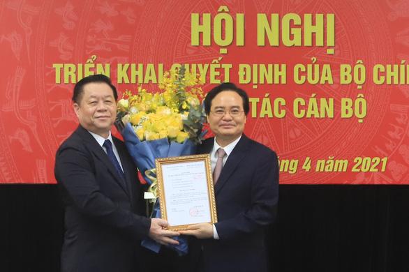 Ông Phùng Xuân Nhạ làm phó Ban Tuyên giáo Trung ương - Ảnh 1.