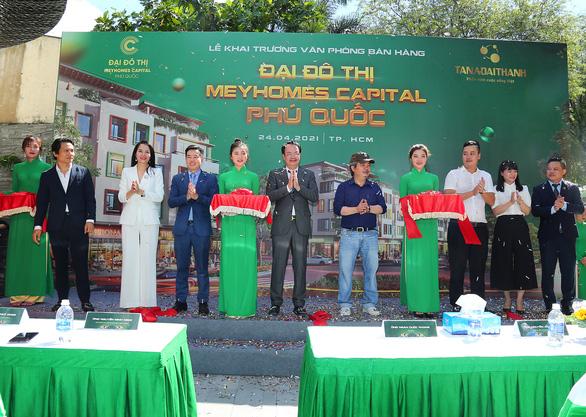 Văn phòng Meyhomes Capital Phú Quốc mới khai trương có gì đặc biệt? - Ảnh 1.
