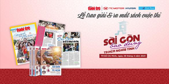Ngày mai, 29-4, lễ trao giải và ra mắt sách Sài Gòn bao dung - TP.HCM nghĩa tình - Ảnh 1.