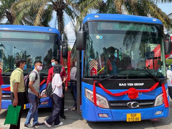 TP.HCM đưa vào khai thác 4 tuyến xe buýt đấu thầu - Ảnh 2.