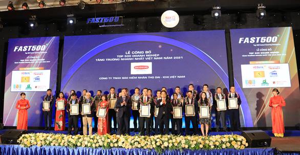 Dai-ichi Life Việt Nam vào top 500 doanh nghiệp tăng trưởng nhanh nhất Việt Nam - Ảnh 1.