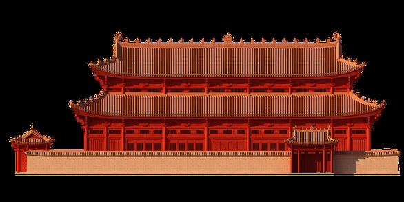 Hoàng cung Thăng Long thời Lý nguy nga qua hình ảnh phục dựng 3D - Ảnh 2.