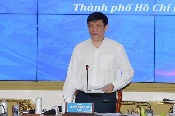 Bộ trưởng Bộ Y tế: TP.HCM phải kích hoạt lại toàn bộ hệ thống chống dịch ở mức cao nhất - Ảnh 1.