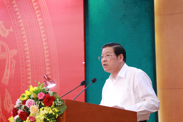 Trưởng Ban Nội chính trung ương: Nghiên cứu cơ chế để không dám tham nhũng - Ảnh 1.