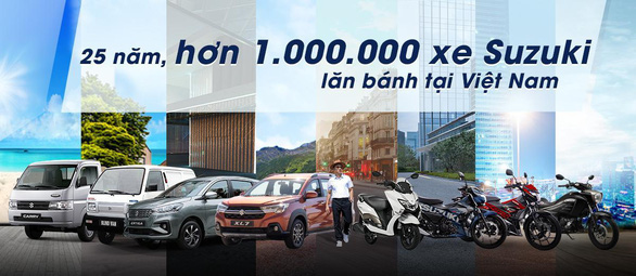 25 năm, hơn 1 triệu xe Suzuki lăn bánh tại Việt Nam - Ảnh 2.