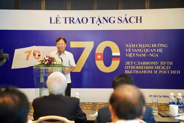 Lễ trao tặng sách - hoạt động thể hiện tình hữu nghị giữa hai nước Việt Nam - Nga - Ảnh 3.