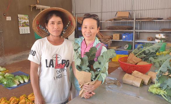 Người phụ nữ mê nông nghiệp thuận tự nhiên - Ảnh 1.