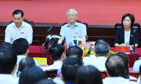 Tổng bí thư Nguyễn Phú Trọng thuộc đơn vị bầu cử Ba Đình, Đống Đa, Hai Bà Trưng - Ảnh 1.