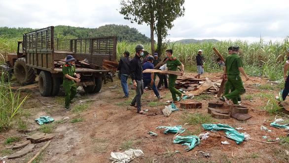 Khởi tố 37 người tham gia phá rừng giáp ranh Đắk Lắk - Phú Yên - Ảnh 4.