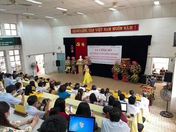 Sáp nhập Trường cao đẳng Sư phạm Ninh Thuận vào Đại học Nông lâm TP.HCM - Ảnh 1.