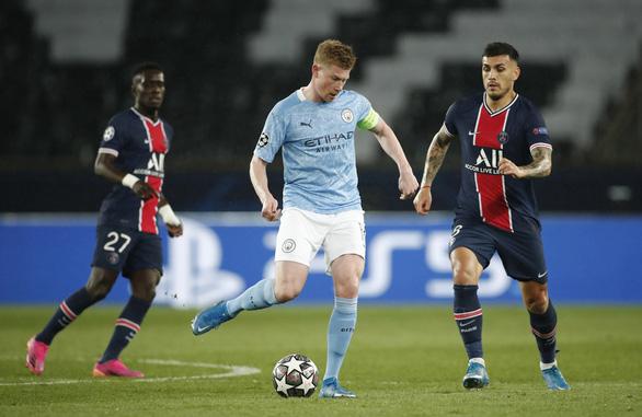 Man City ngược dòng hạ PSG ở bán kết lượt đi Champions League - Ảnh 3.