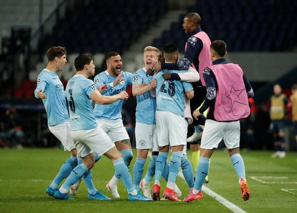 Man City ngược dòng hạ PSG ở bán kết lượt đi Champions League - Ảnh 1.