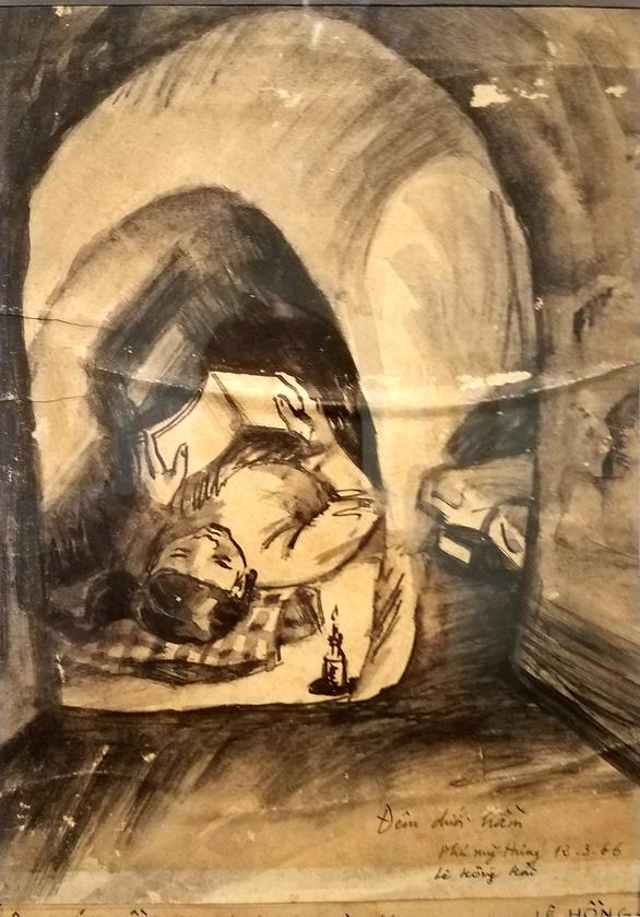 Những hình ảnh một thời họa sĩ sáng tác dưới mưa bom bão đạn - Ảnh 7.