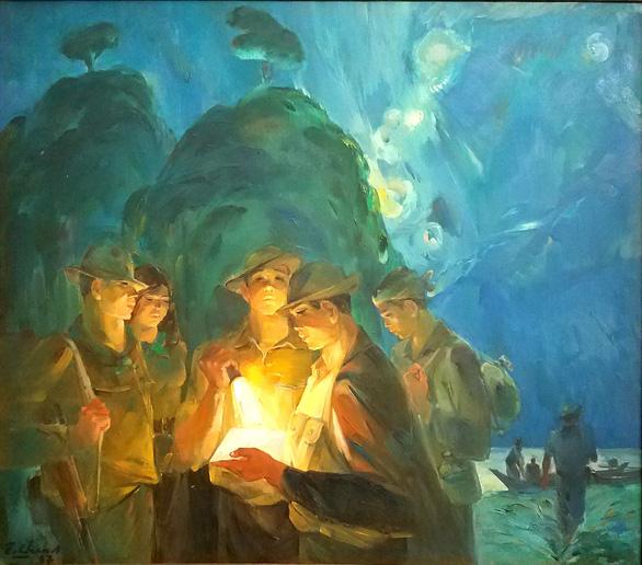Những hình ảnh một thời họa sĩ sáng tác dưới mưa bom bão đạn - Ảnh 5.