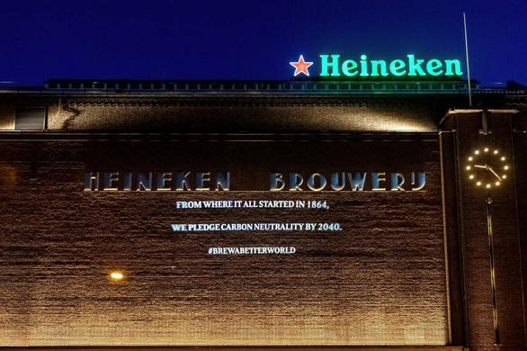 Heineken đặt mục tiêu trung tính các-bon trong sản xuất vào năm 2030 - Ảnh 1.