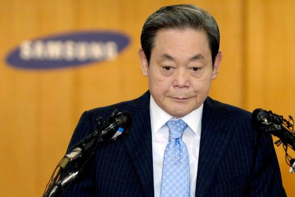 Gia đình cố chủ tịch Samsung nộp 10,8 tỉ USD tiền thuế thừa kế tài sản - Ảnh 1.