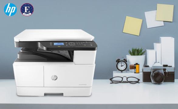 'Tất cả trong một' với máy in đa chức năng khổ giấy A3 HP - Ảnh 1.