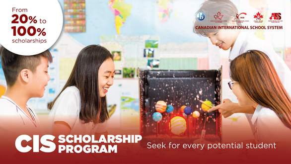 Cơ hội nhận 100% học phí tại trường quốc tế Canada - Ảnh 1.