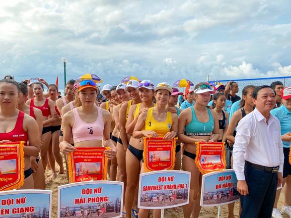 Giải Bóng chuyền bãi biển quốc gia 2021: Đội nam, nữ Sanvinest Khánh Hòa vô địch - Ảnh 2.