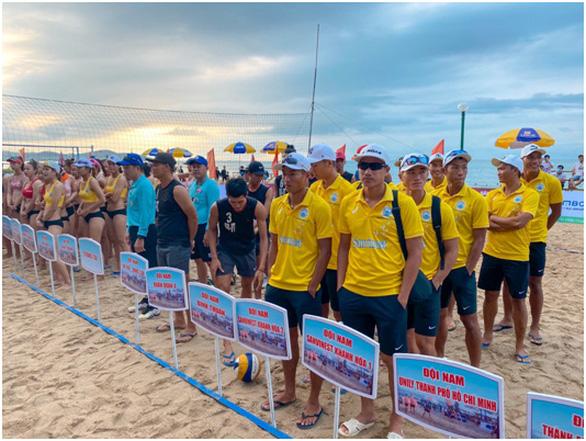 Giải Bóng chuyền bãi biển quốc gia 2021: Đội nam, nữ Sanvinest Khánh Hòa vô địch - Ảnh 4.