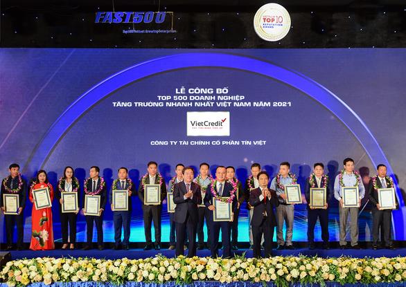 VietCredit được vinh danh thứ hạng cao trong bảng FAST500 - Ảnh 1.