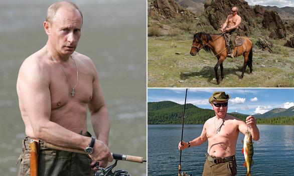 Bỏ xa nhiều nam ca sĩ, ông Putin được bình chọn là người đẹp trai nhất nước Nga - Ảnh 1.