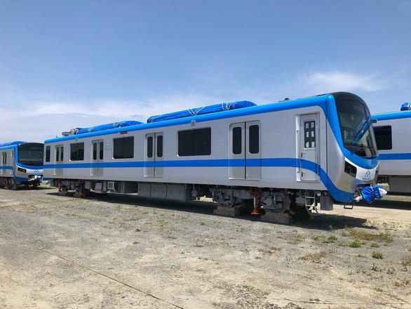 Ngày 1-5, thêm 2 đoàn tàu metro số 1 từ Nhật Bản về Việt Nam - Ảnh 1.