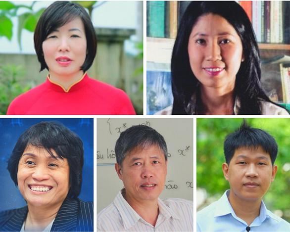 5 nhà khoa học Việt vào top 100 châu Á - Ảnh 1.