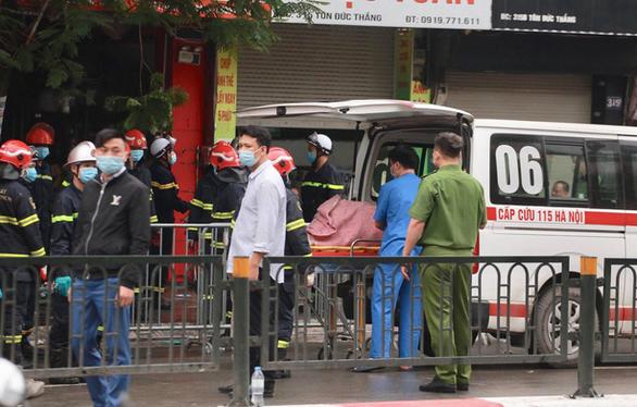 Cháy cửa hàng đồ sơ sinh ở Hà Nội: 4 người thiệt mạng - Ảnh 4.