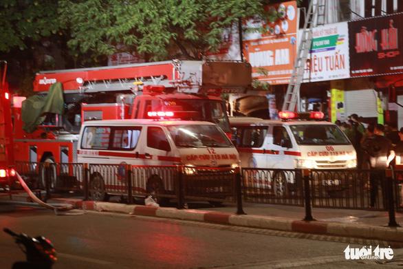 Cháy cửa hàng đồ sơ sinh ở Hà Nội: 4 người thiệt mạng - Ảnh 6.