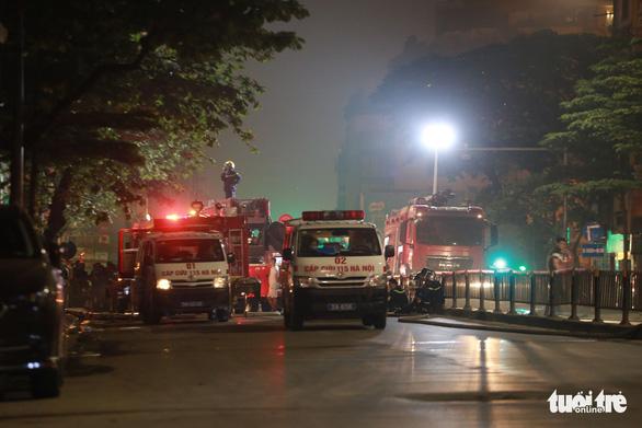Vụ cháy cửa hàng làm 4 người chết ở Hà Nội: Bước đầu xác định do chập điện - Ảnh 1.