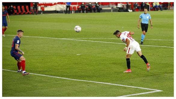 Jan Oblak lần thứ hai liên tiếp cản phạt đền, Atletico Madrid vẫn thua Sevilla - Ảnh 4.