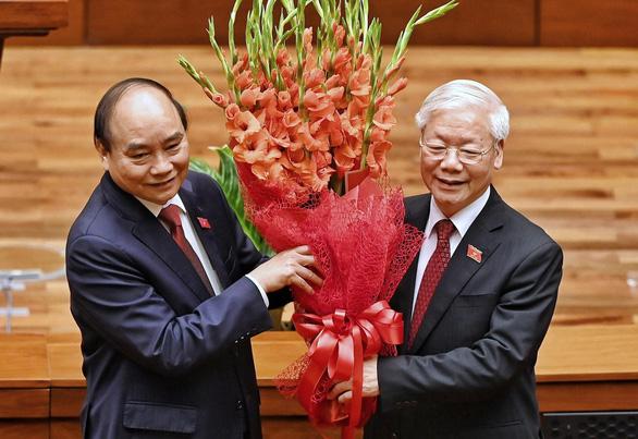 Tân Chủ tịch nước Nguyễn Xuân Phúc: Khó khăn không thể làm chùn bước chân của chúng ta - Ảnh 4.